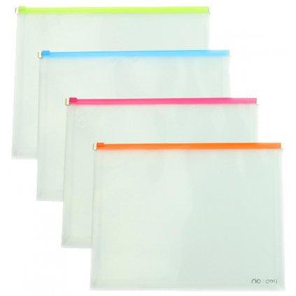 Spisové desky A4 PVC se zipem