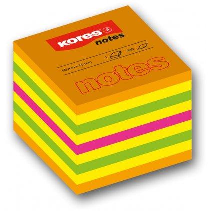 Bloček 50x50 4-barvy 400l Kores Cubo *