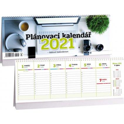 Kalendář s. 2021 Planovací daňový 340x120