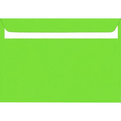 Obálka sam.DL zelená 20ks 160g 110x220