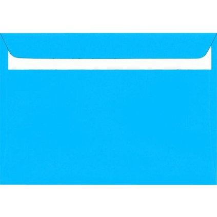 Obálka DL modrá 20ks 160g 110x220