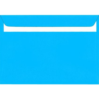 Obálka sam.DL modrá 20ks 160g 110x220