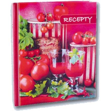 Kniha na recepty A5 mix motivů