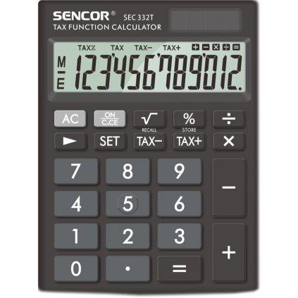 Kalkulačka Sencor SEC 332/T 115x155