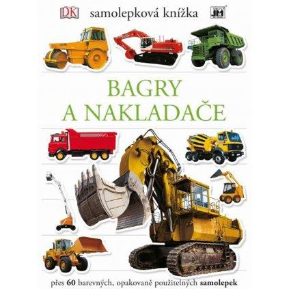 Samolepková knížka Bagry 216x275 60et.