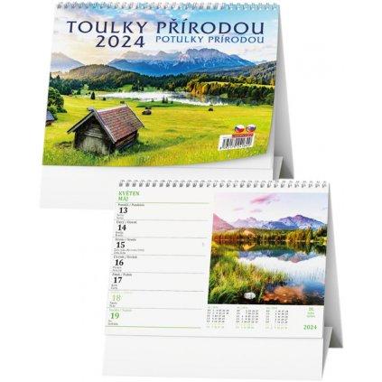 Kalendář s. 2022 Toulky přírodou 210x150