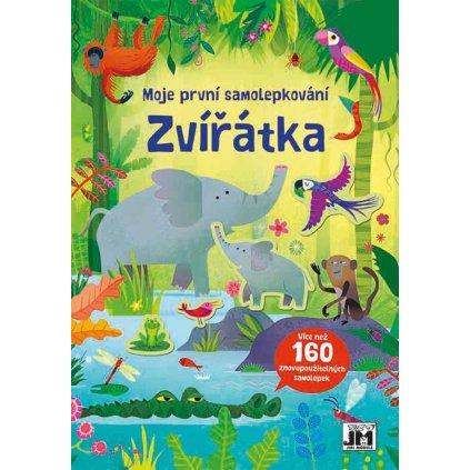 Samolepková knížka Zvířátka 170x240 160e