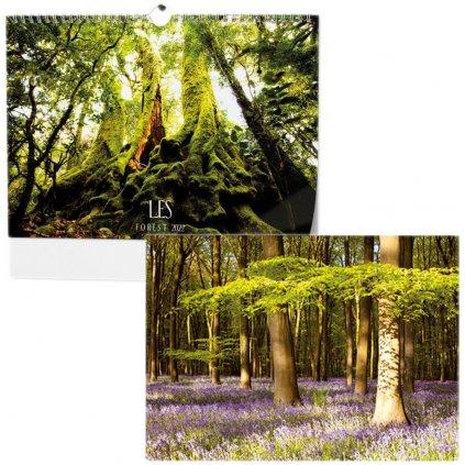 Kalendář n.2022 Les BNK22 450x320
