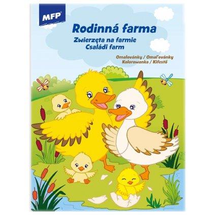 Omalovánky A4 Rodinná farma 5301064