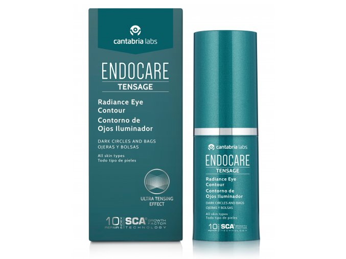 Endocare Tensage Radiance Eye Contour Bottle & Box JPG (2)
