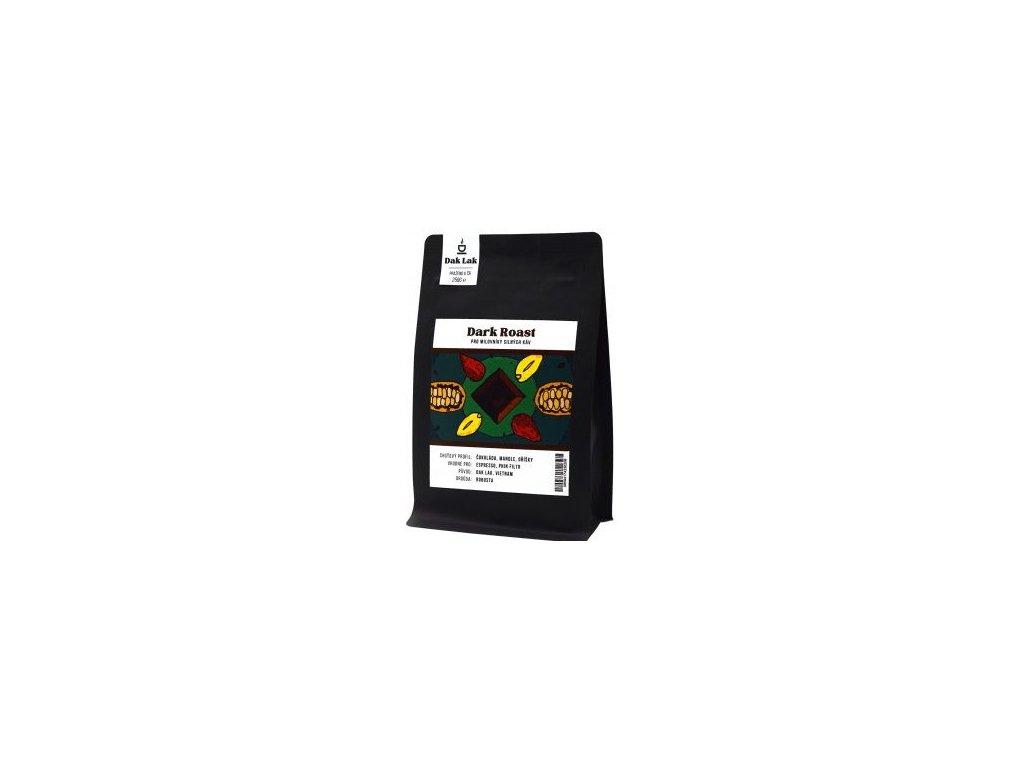 dak lak coffee dark 250g mleta mletá