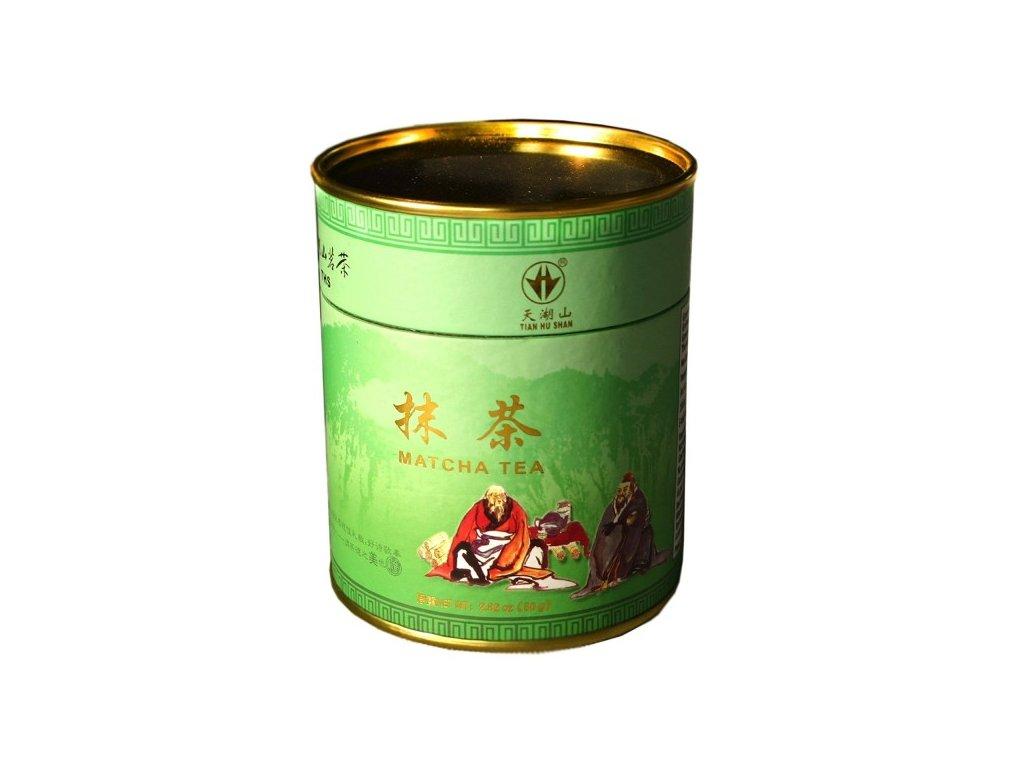 the vert matcha de chine tian hu shan