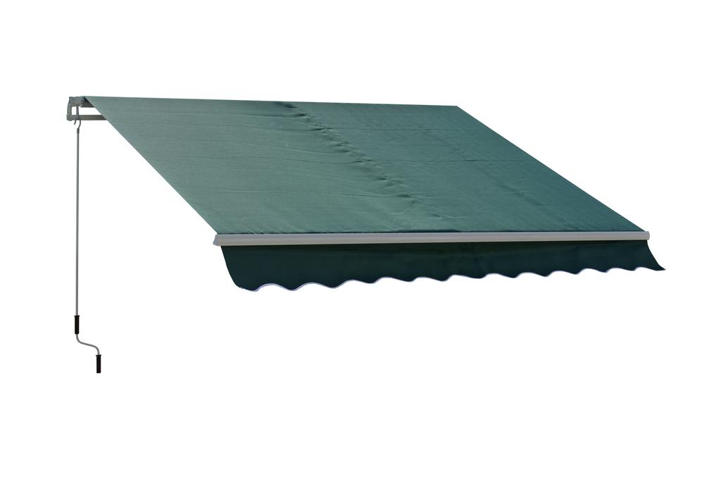 Markýzy o rozměrech 4x2,5m