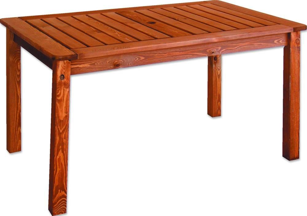Dřevěné zahradní stoly