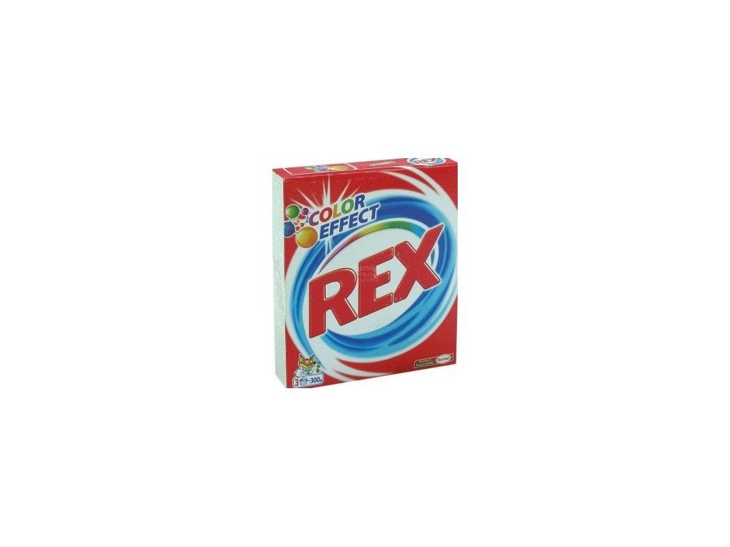 REX 3x action color 300g - prací prášek