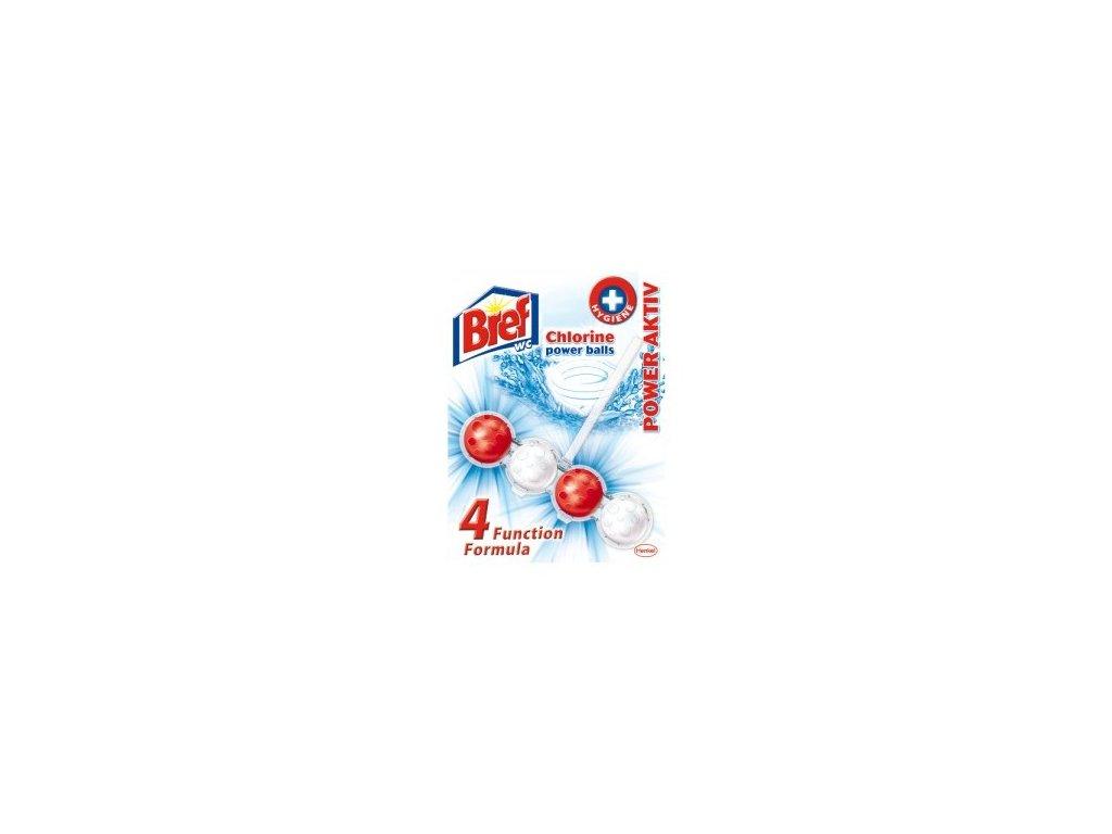Bref Power Aktiv Chlorine Power Balls WC blok závěsný 51g