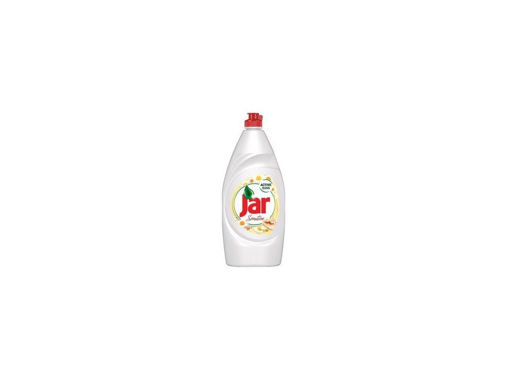 Jar Sensitive na nádobí 900 ml heřmánek a Vitamin E, mycí prostředek