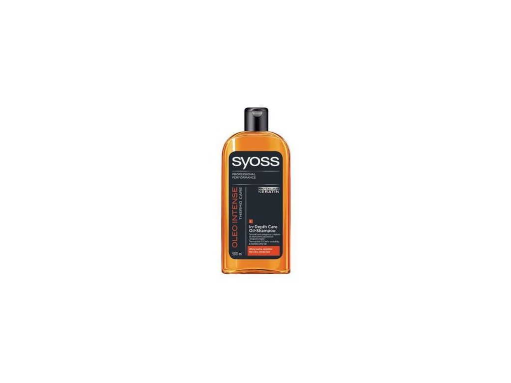 Syoss Oleo Intense 500ml vlasový šampon
