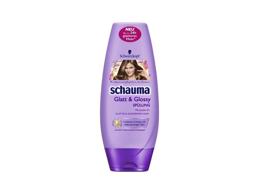 Schwarzkopf Schauma Glatt & Glossy 250ml balzám na vlasy s Jojobovým olejem
