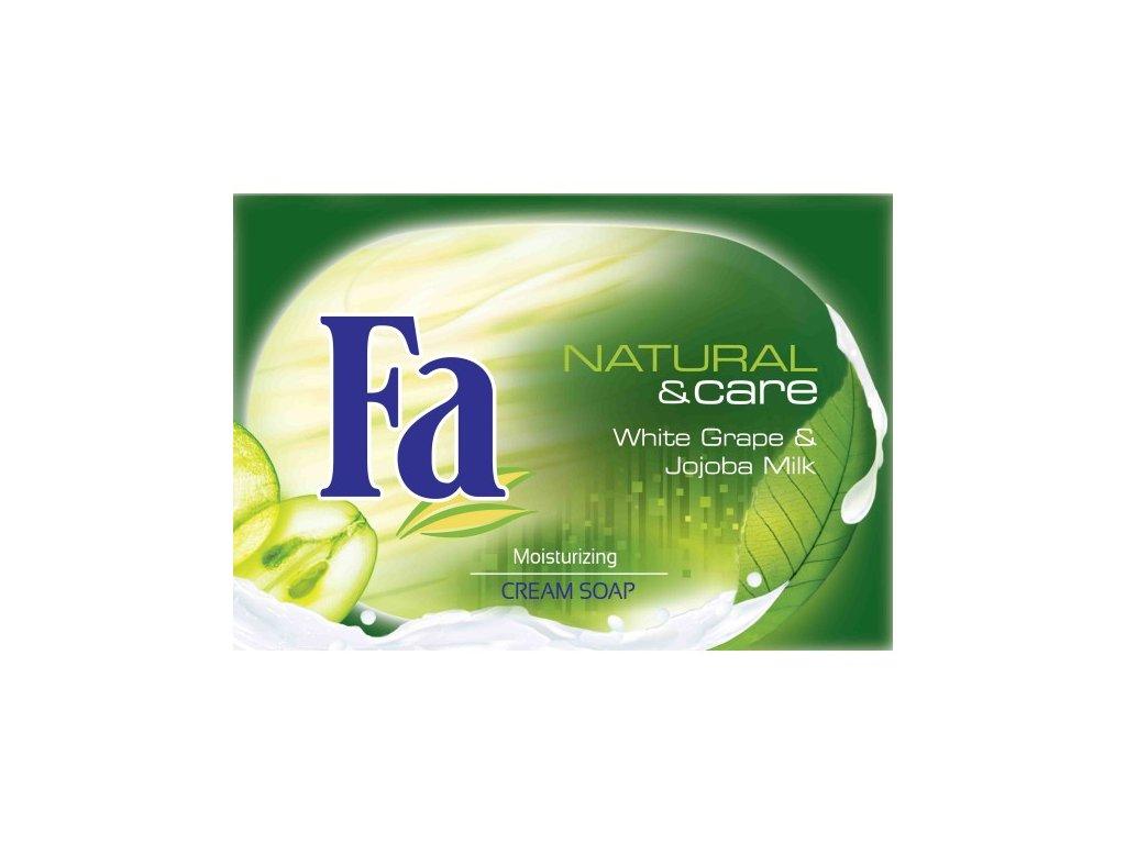 Fa mýdlo klasické 100g Natural & Care Hroznové víno a Jojobové mléko