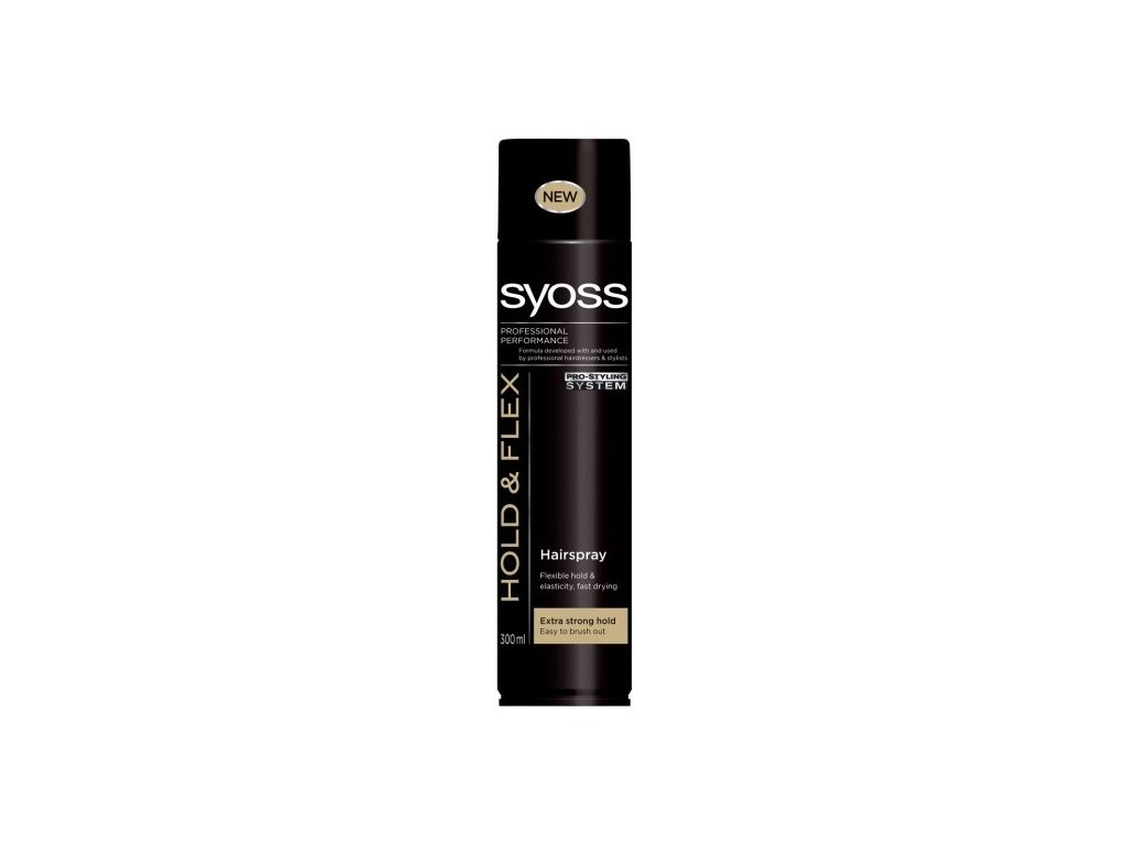Syoss Strong Hold 300ml lak na vlasy - silná fixace (fialový)