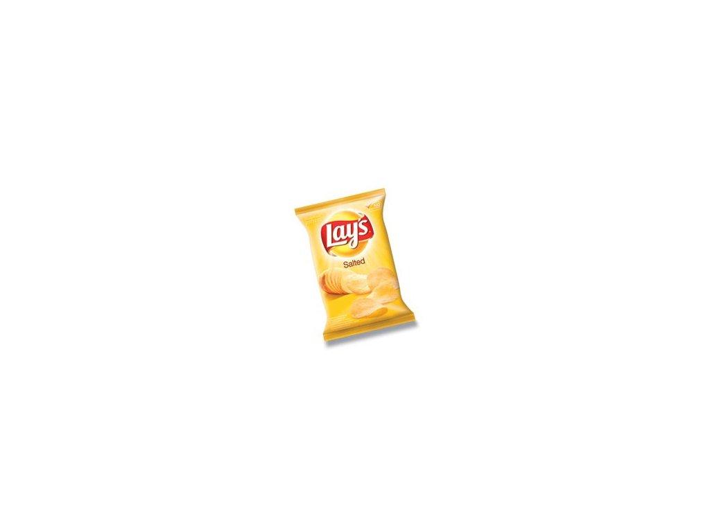Lays slané chipsy, brambůrky 77g