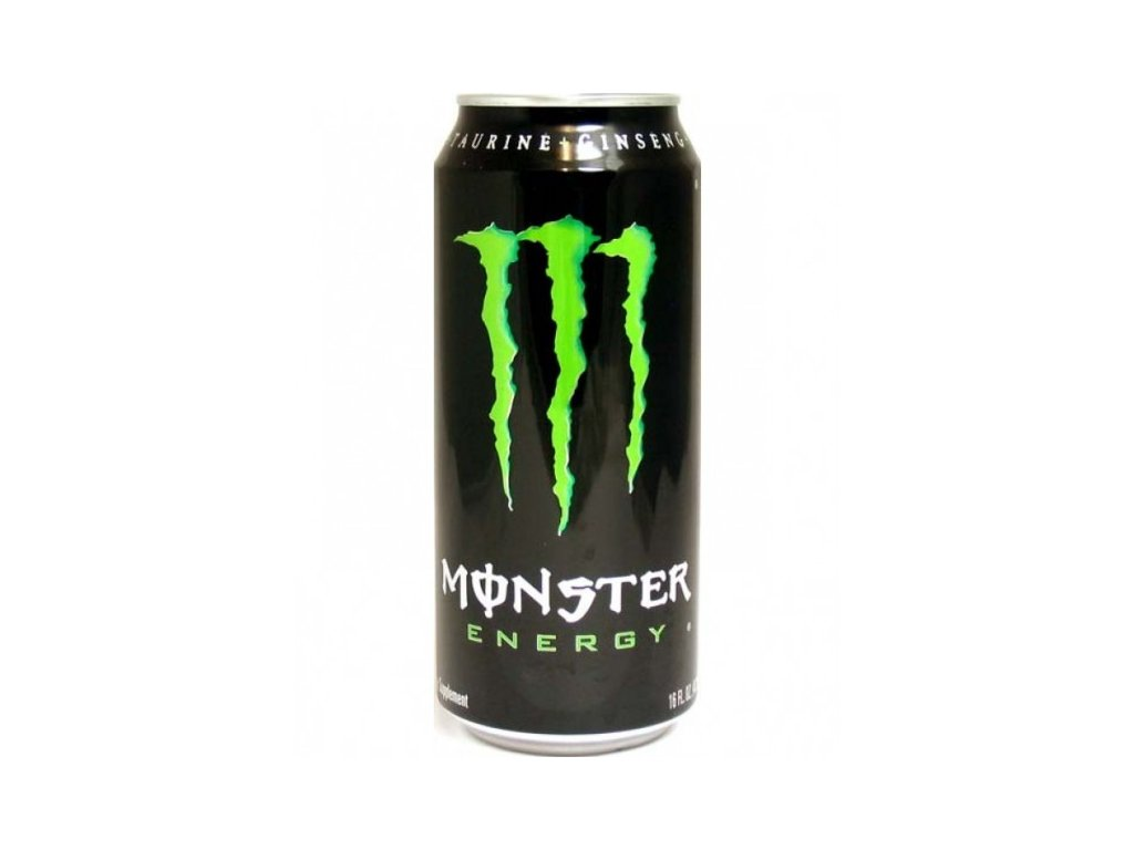 Monster Energy 500ml plech, energy drink