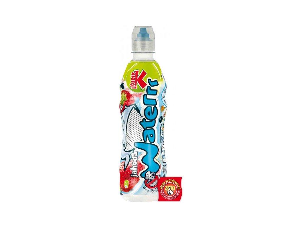 Kubík waterrr jahoda 0,5L voda pro děti