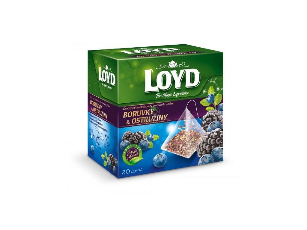 Loyd Tea Borůvky a Ostružiny ovocný čaj 20 sáčků