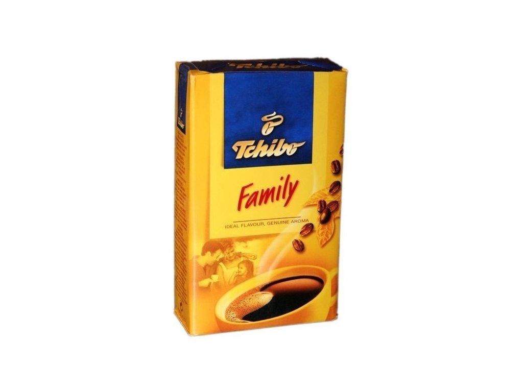 Tchibo Family, pražená mletá káva 250g
