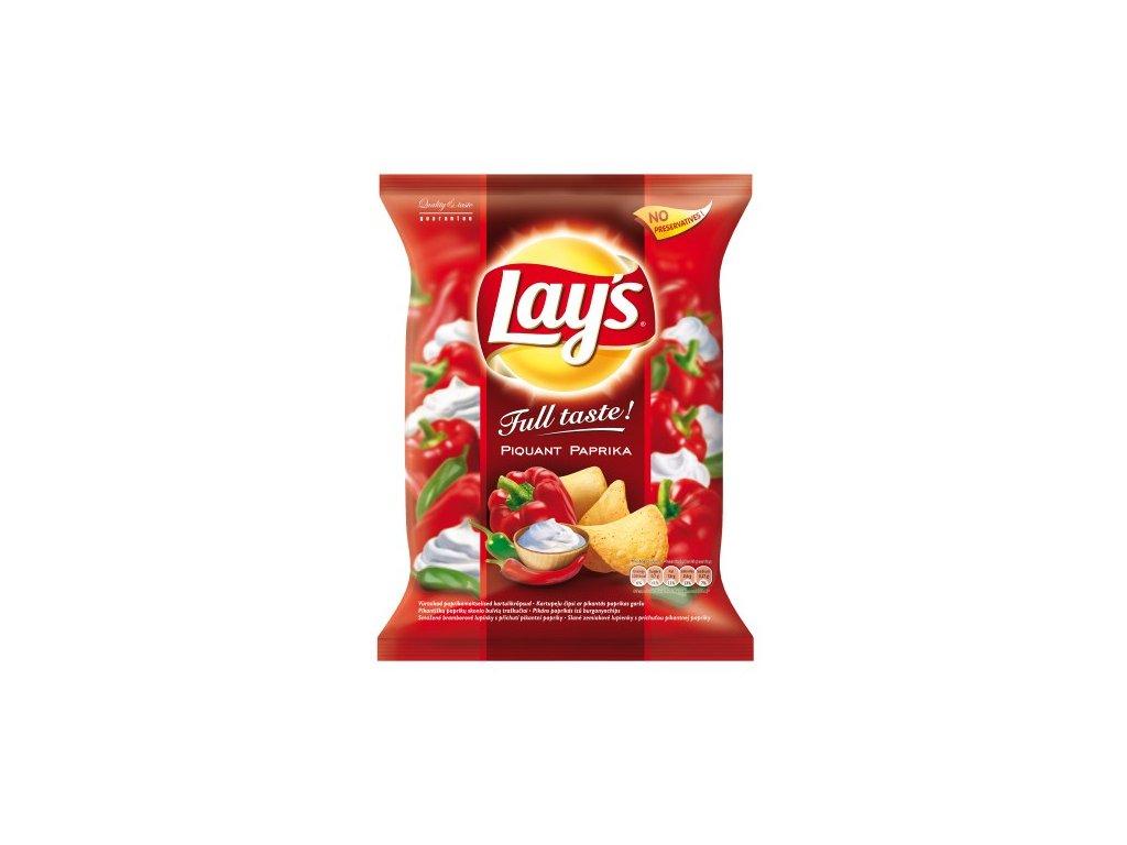 Lays Full Taste Piquant Paprika chipsy, brambůrky 77g