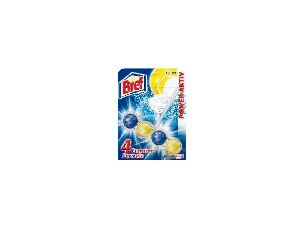 Bref Power Aktiv Lemon WC blok závěsný 51g