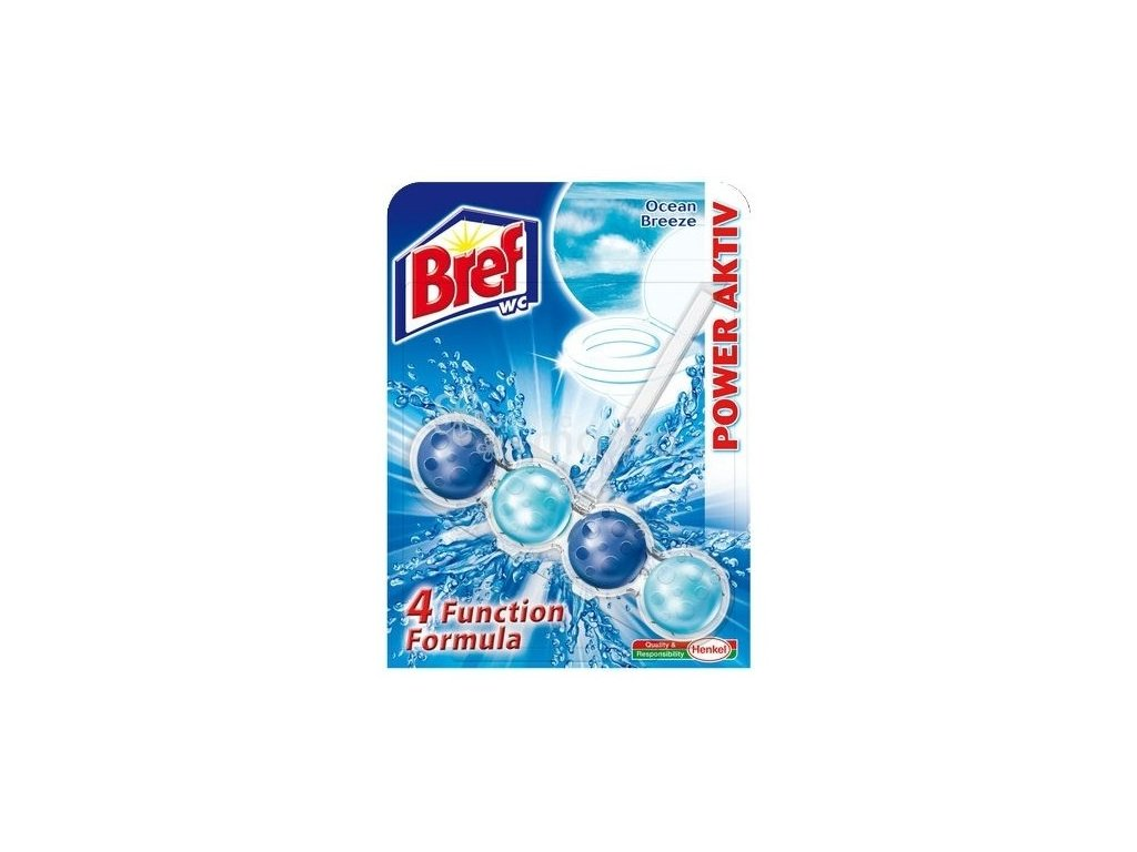 Bref Power Aktiv Ocean Breeze WC blok závěsný 51g