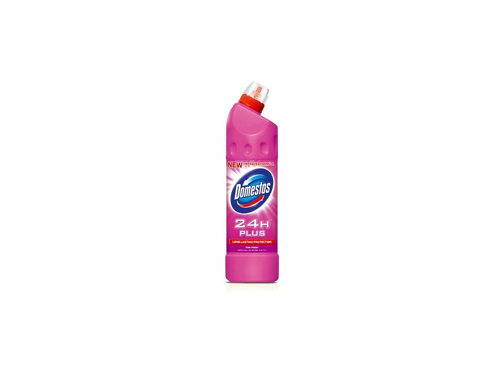 Domestos 24h Pink Fresh 750 ml tekutý desinfekční a čisticí prostředek