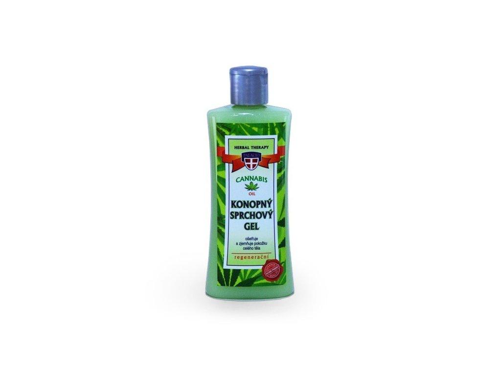 Konopný sprchový gel Cannabis Herbal Therapy 250ml