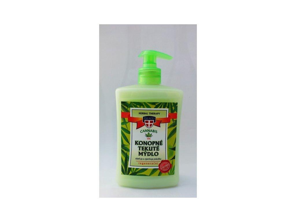 Konopné tekuté mýdlo Cannabis Herbal Therapy 500ml