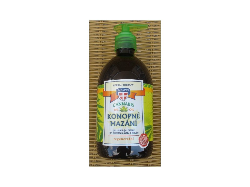 Konopné mazání Cannabis herbal therapy 500ml