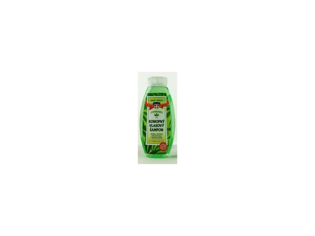 Konopný vlasový šampon Cannabis Herbal Therapy 500ml