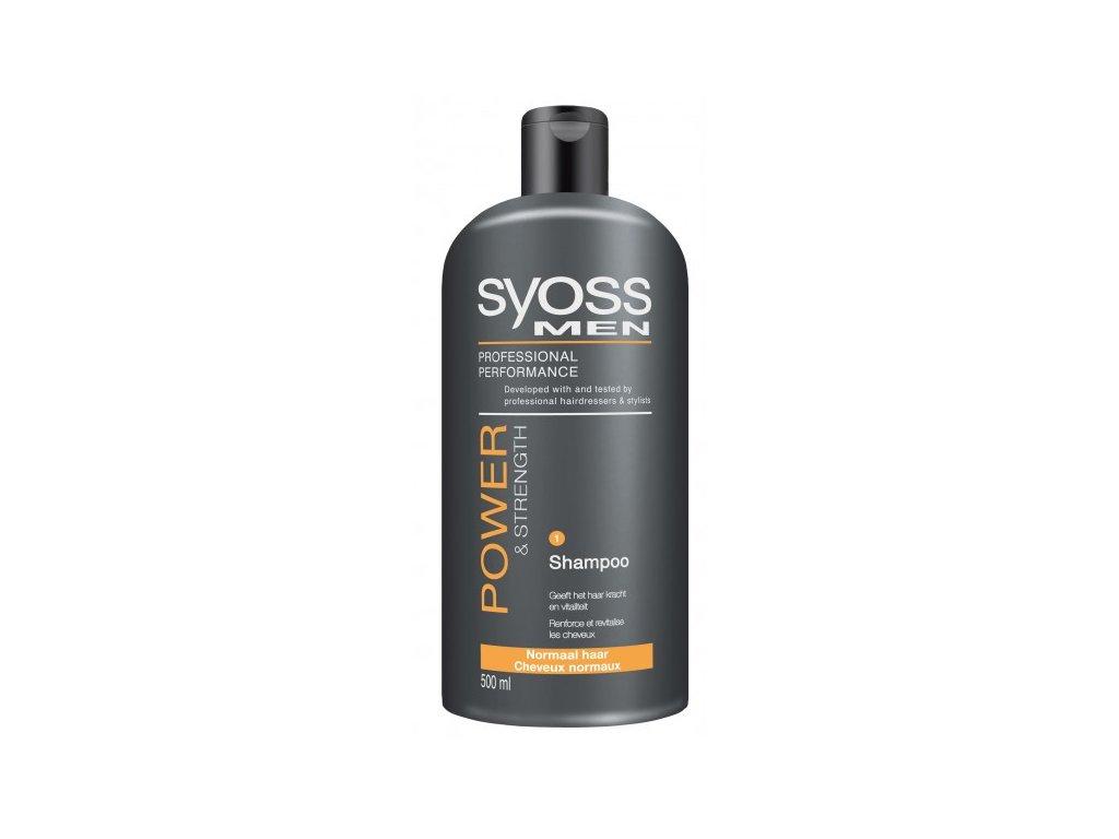 Syoss Men Power & Strength šampon na vlasy 500 ml