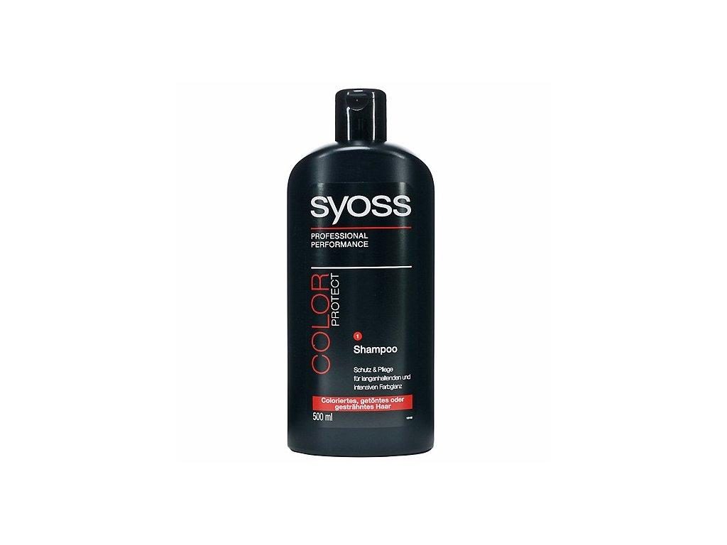 Syoss Color Protect šampon na vlasy 500 ml pro barvené vlasy
