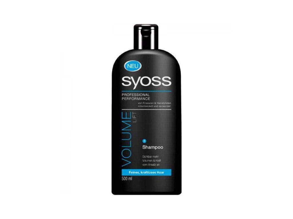 Syoss Volume Lift šampon na vlasy 500 ml pro maximální objem