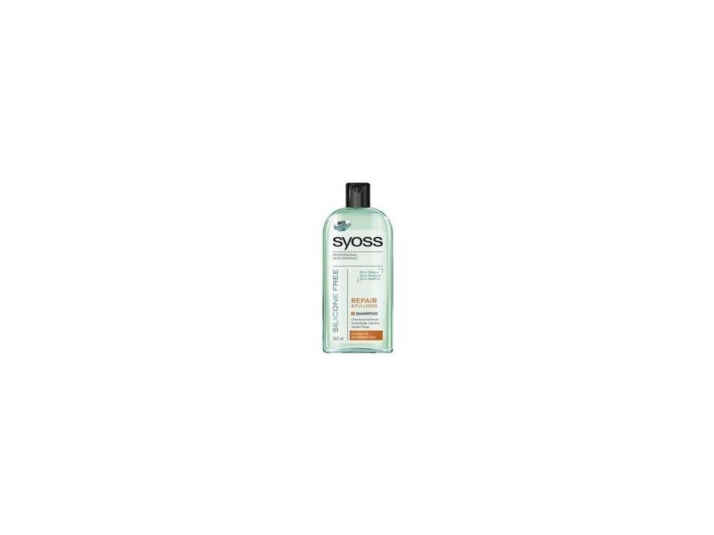 Syoss Repair & Fullness Silicone Free šampon na vlasy 500 ml bez silikonů