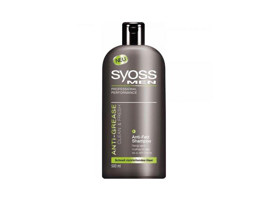 SYOSS šampon 500ml Men Anti-Grease