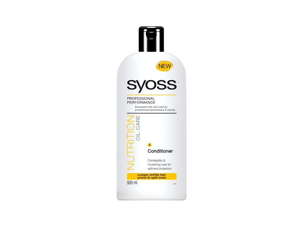 Syoss Nutrition Oil Care kondicionér na vlasy 500 ml smývatelný