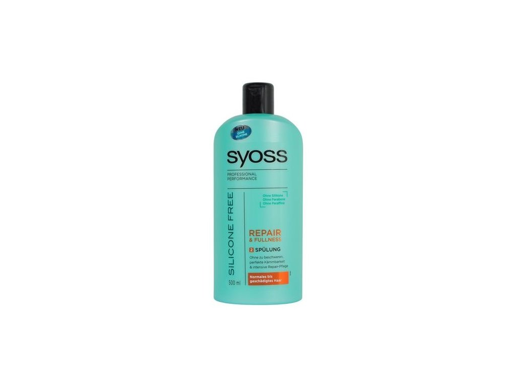 Syoss balzám Repair & Fullness bez silikonu 500ml