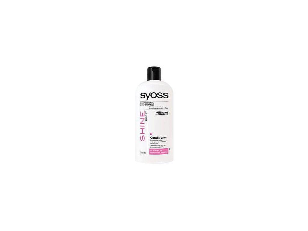 Syoss Professional kondicionér lesk 500 ml Shine boost