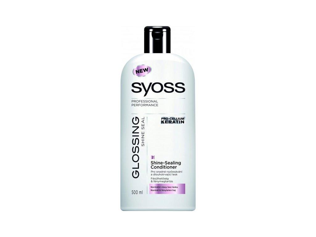 Syoss Glossing Shine-Seal kondicionér pro normální vlasy bez lesku