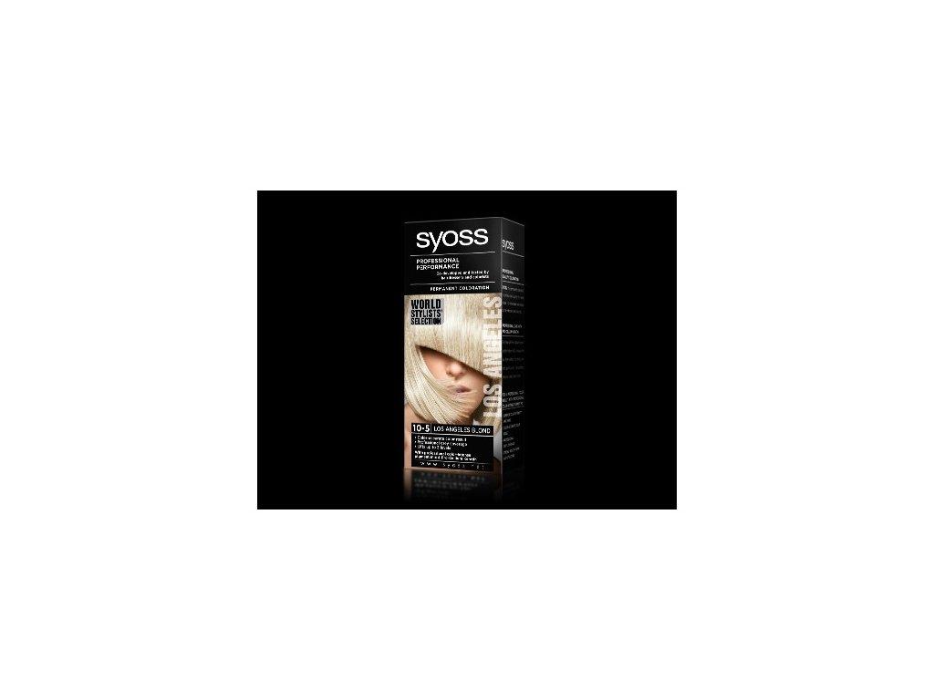 Syoss World Stylists' Selection 10-5 Los Angeles Blond barva na vlasy
