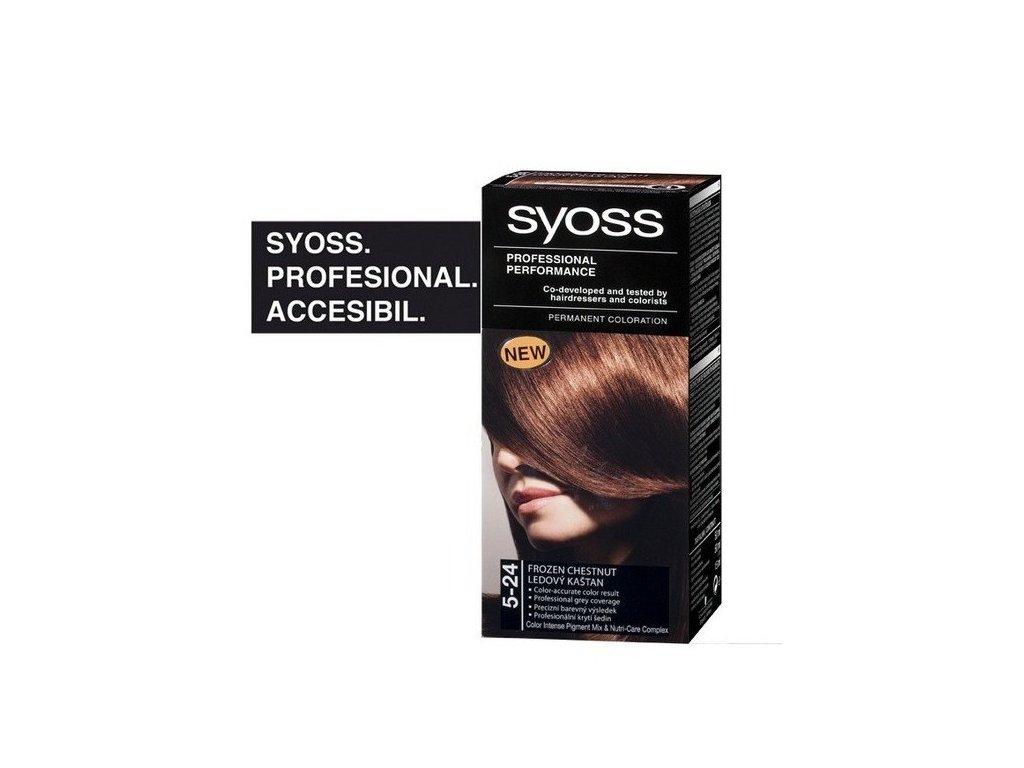 Syoss Color Baseline 5 - 24 Ledový kaštan barva na vlasy