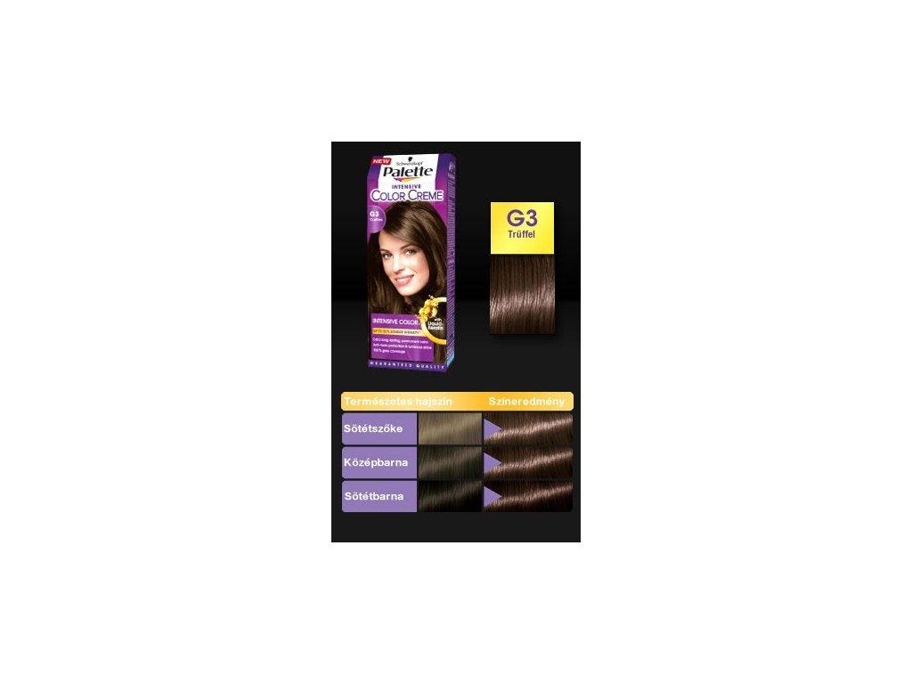 Palette Intensive Color Creme G3 pralinka - barva na vlasy